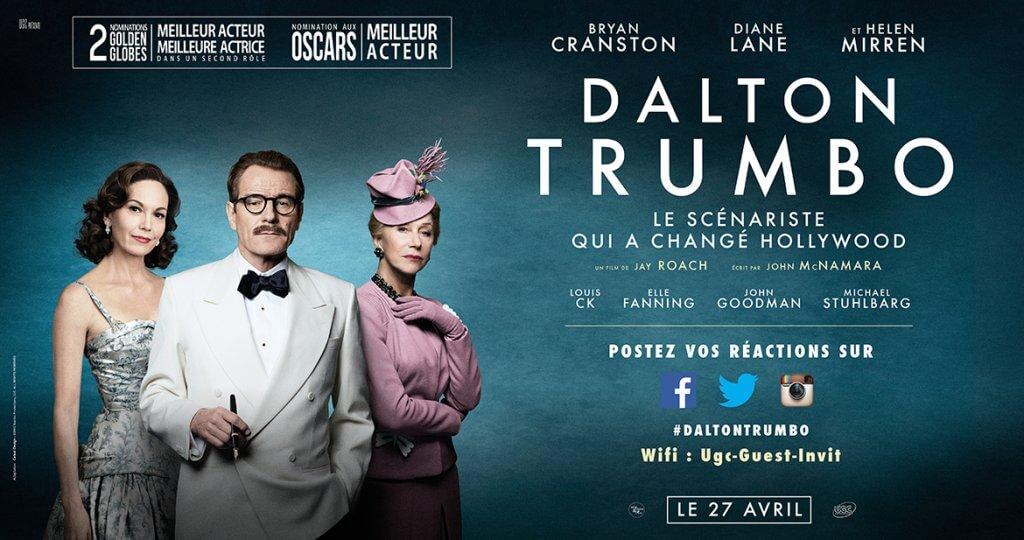4 par 3 affiche Dalton Trumbo - Catsai Design