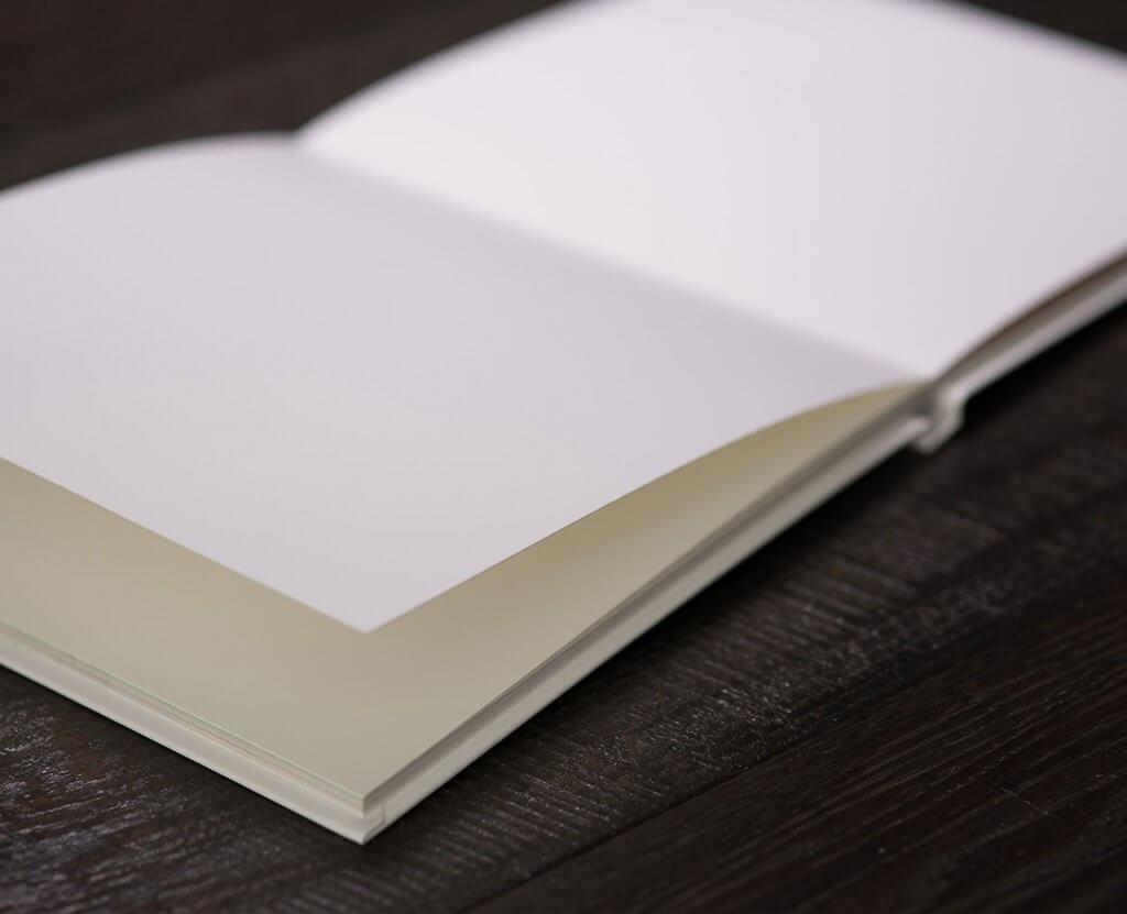photographie livre blanc