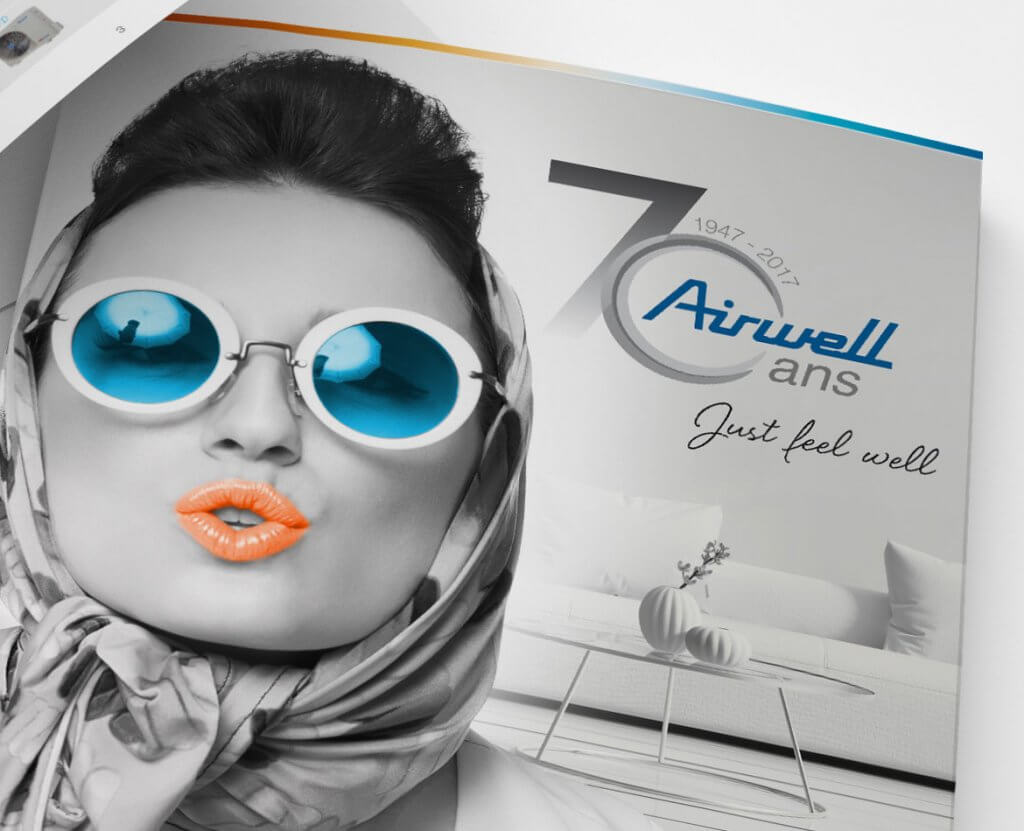 Creation couverture Airwell