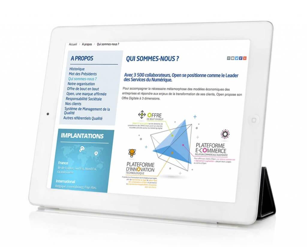 Charte graphique Open Digital