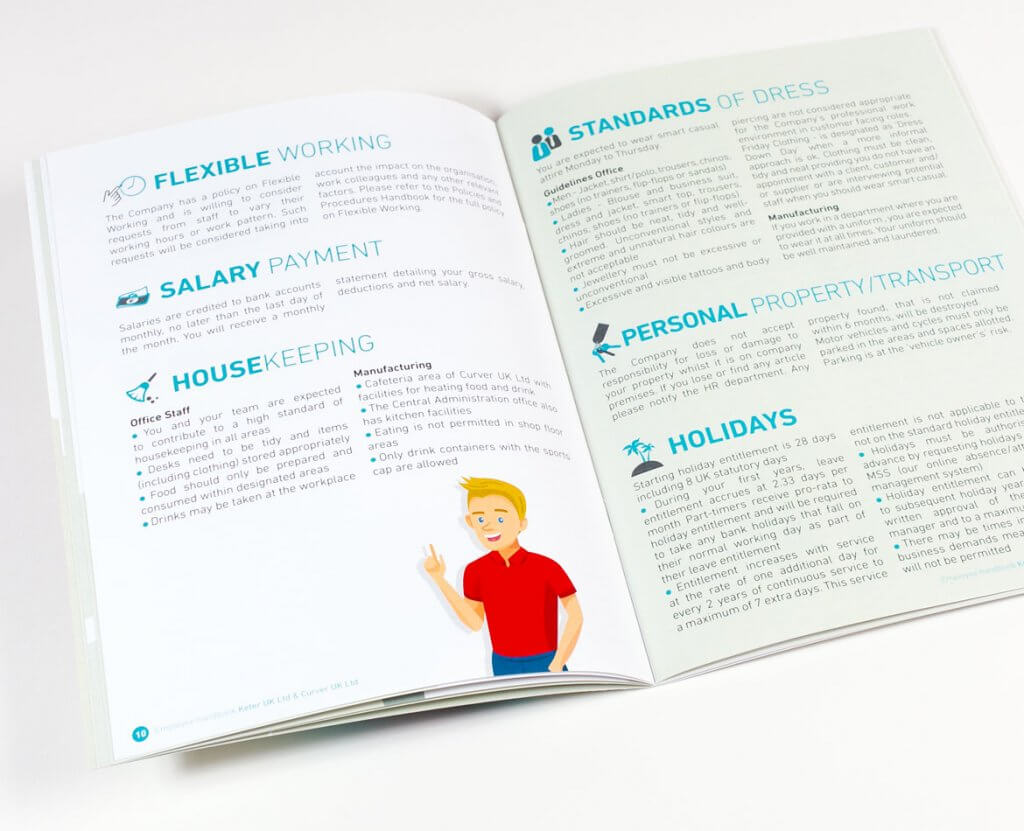 Creation brochure DRH Keter