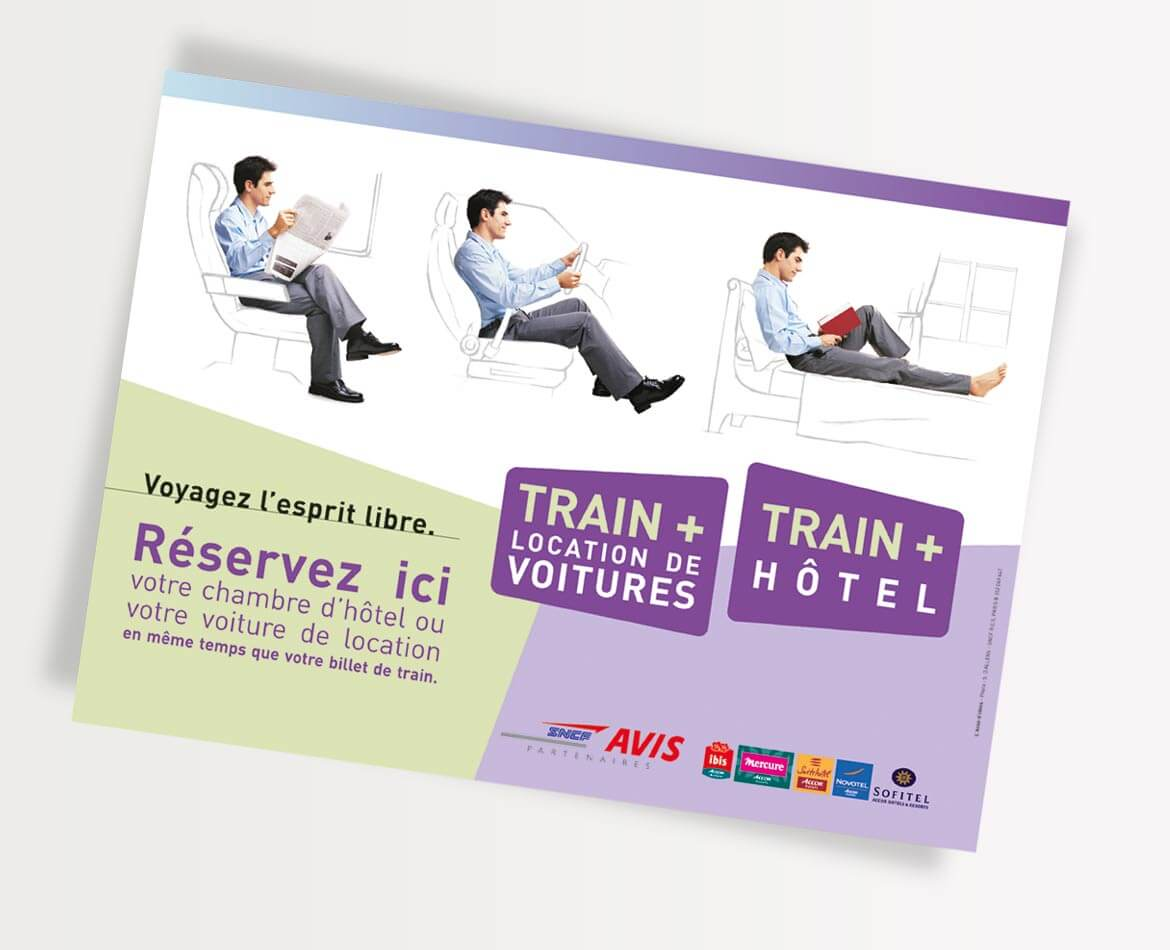 Graphiste service communication SNCF