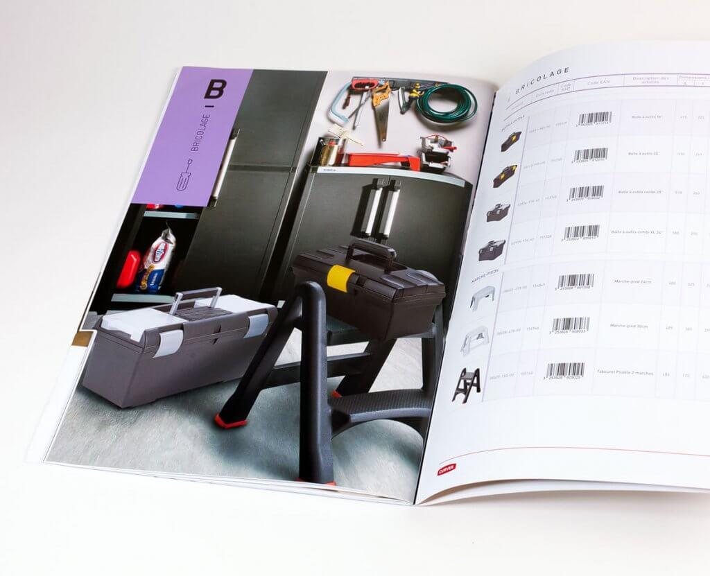 Catalogue produits outillage