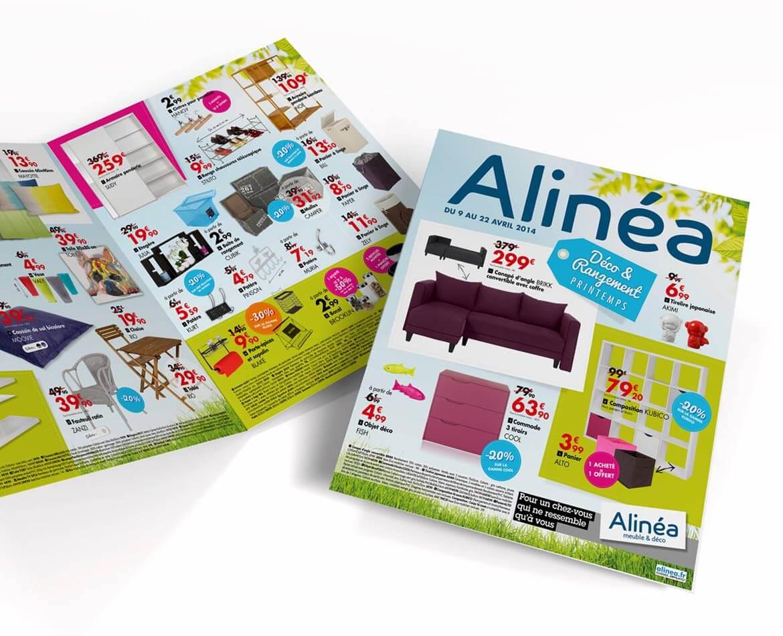 Catalogue Alinea Infographiste freelance