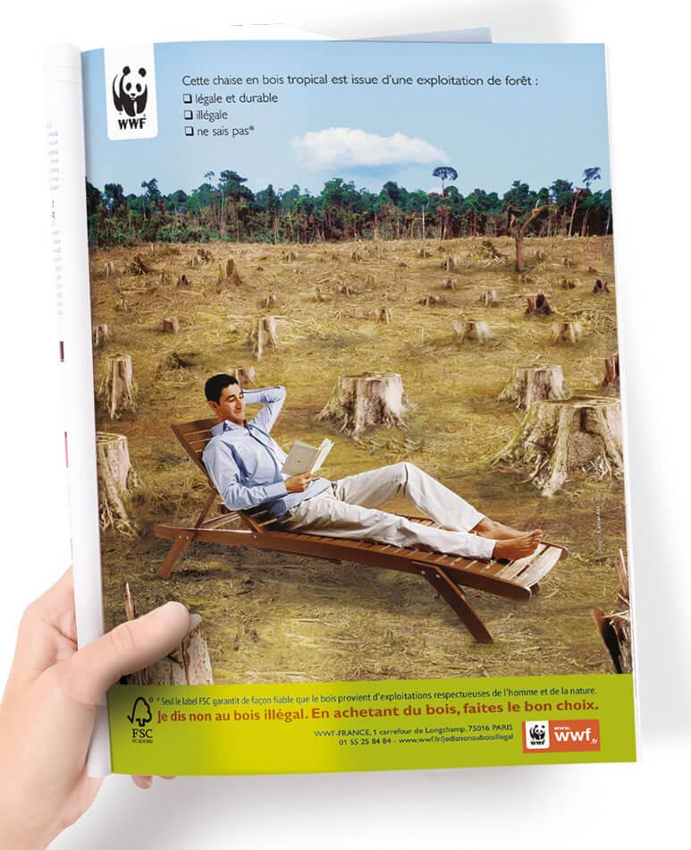 Annonce Presse developpement durable WWF