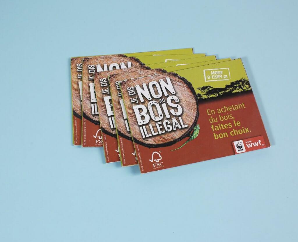 Campagne communication bois illégal
