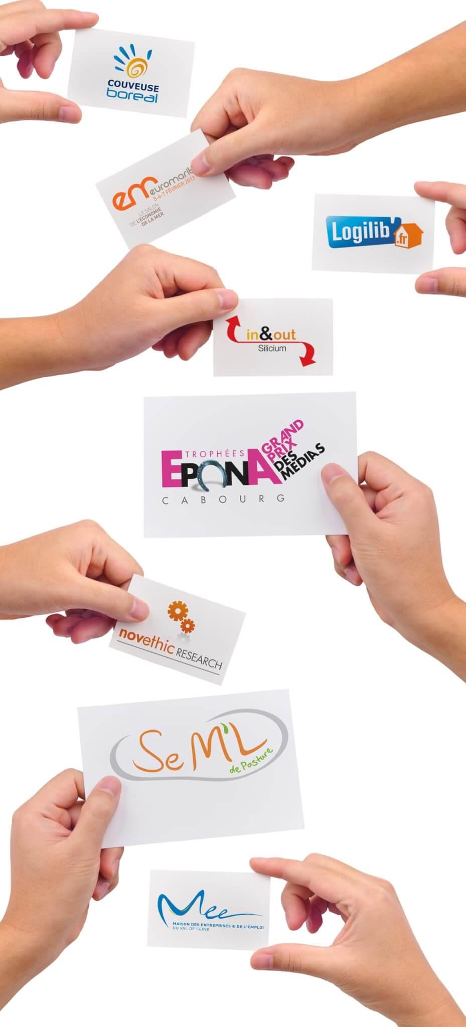 création de logotypes