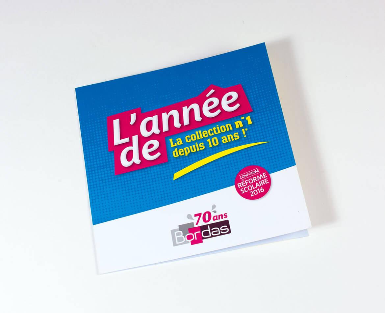 Infographiste Dépliant Editions Bordas