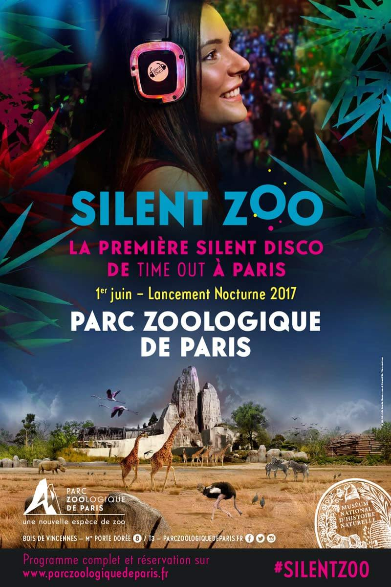 Affiche Silent Zoo