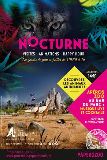 Déclinaison Affiche Nocturne Museum