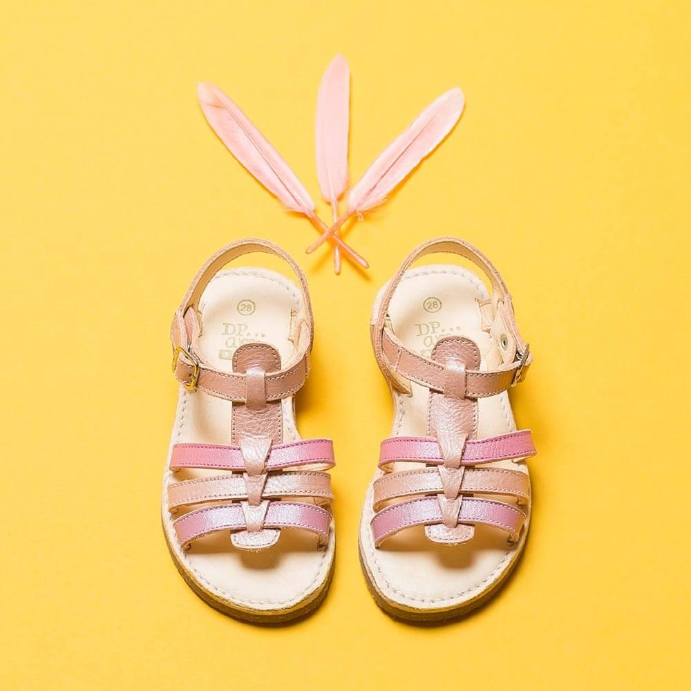 Chaussure enfant DPAM avec plumes