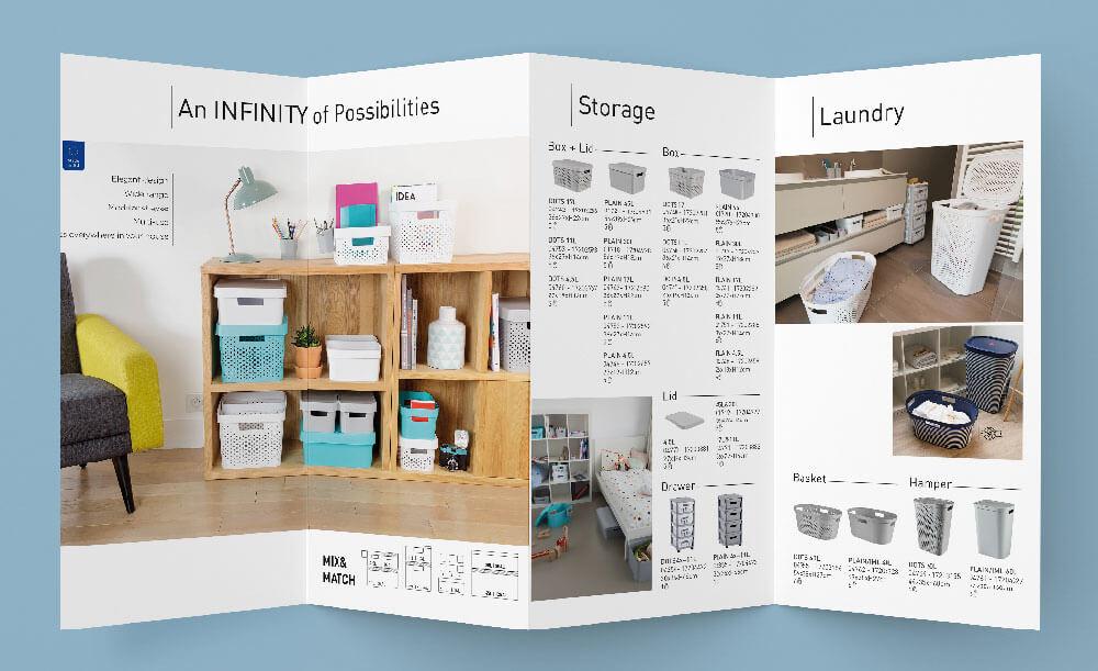 Plaquette produits, catsai design