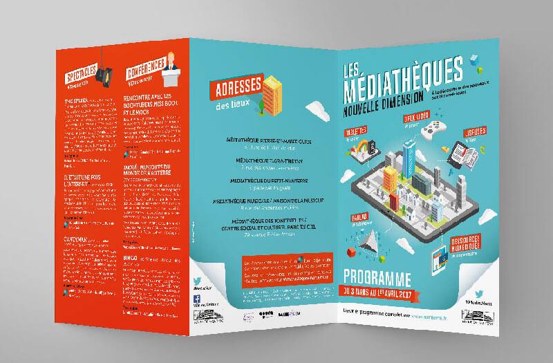 Programme Médiathèque de Nanterre