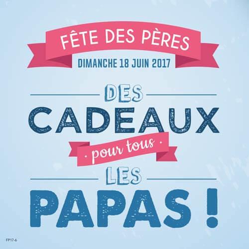 Publicité Fête des pères