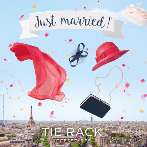 Campagne publicité homme mariage mode