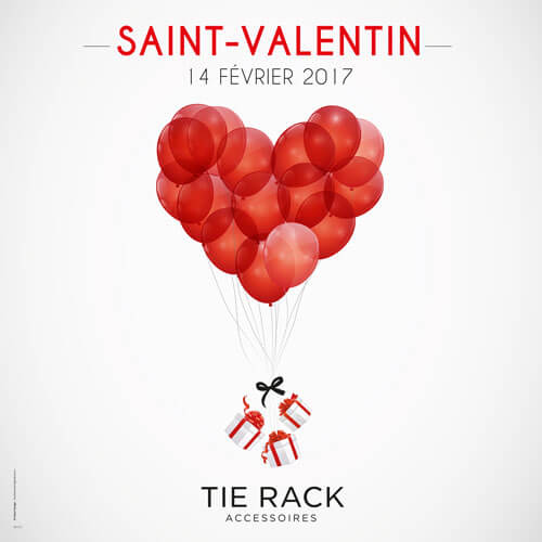 Campagne Saint Valentin accessoires de mode : catsai