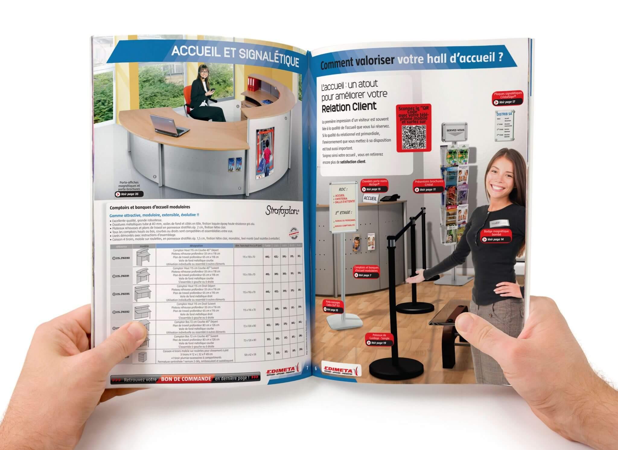 Maquettiste spécialisée catalogue