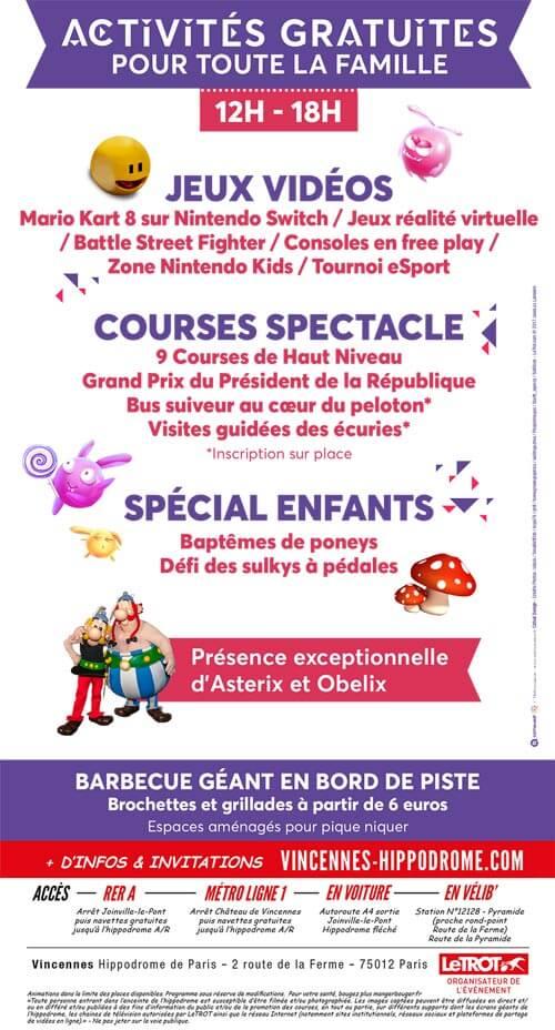 Création Flyer Le trot Français
