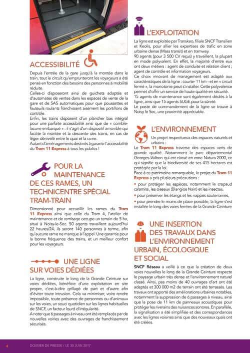 Graphiste freelance Tram 11 SNCF