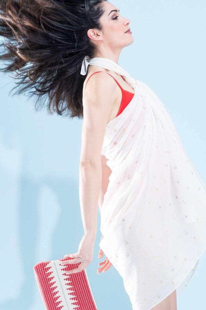 Photographe de mode avec styliste