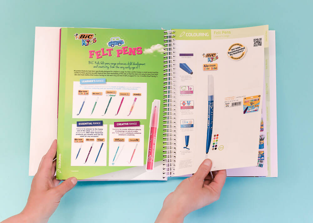 Catalogue produit stylo feutres