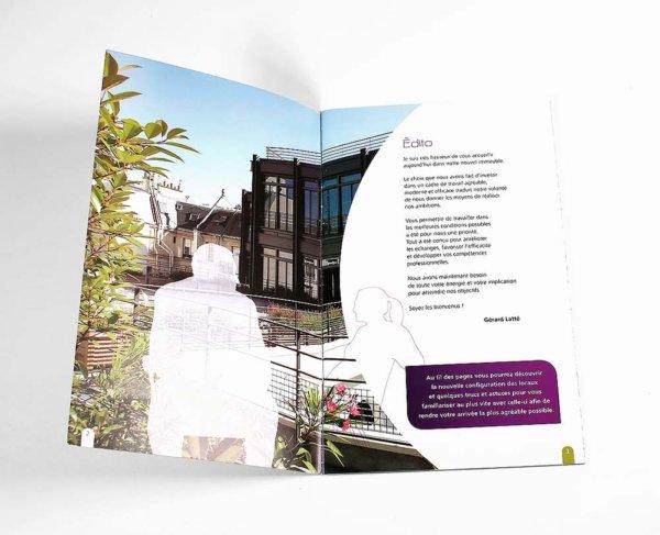 Mise en page Brochure Zurick