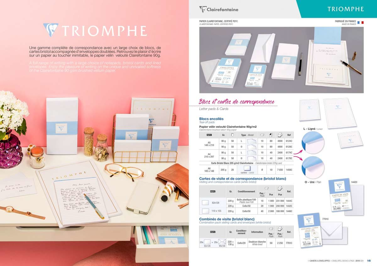 Intérieur catalogue produit
