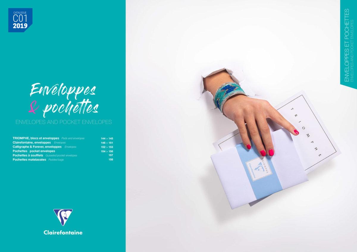 Page intérieure du catalogue
