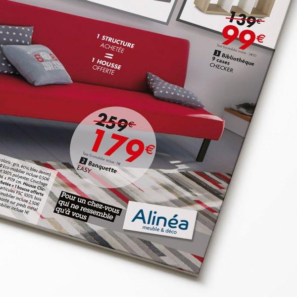 Graphiste Catalogue et plaquettes meuble et décoration