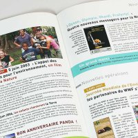 Réalisation lettre WWF