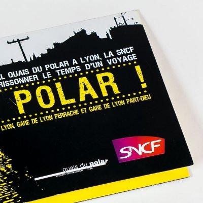 Graphiste pochette a billet SNCF